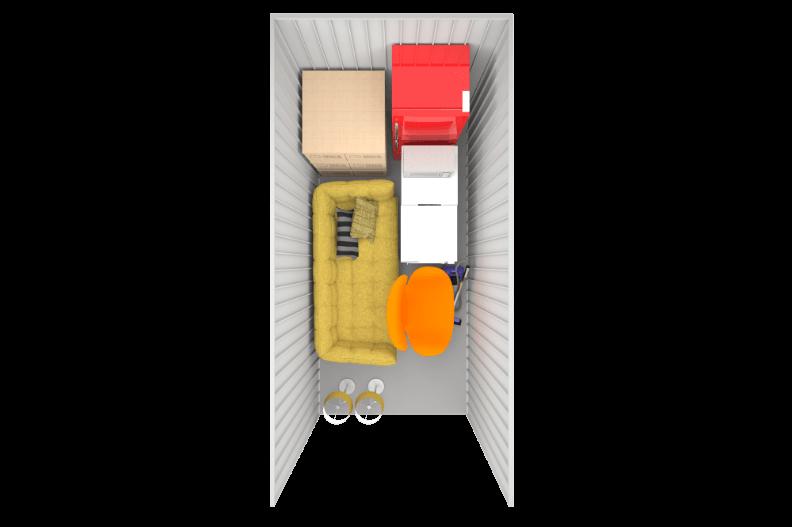 75 sq ft birdseye storage at Space Station
